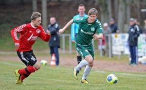 © upahl.de Christian Henning sorgte für die zwischenzeitliche 1:0 Führung
