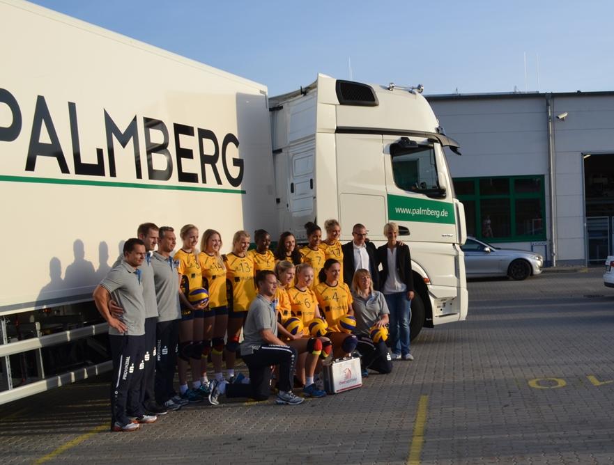 © Schweriner SC Volleyball Die Mannschaft des Schweriner SC 201415