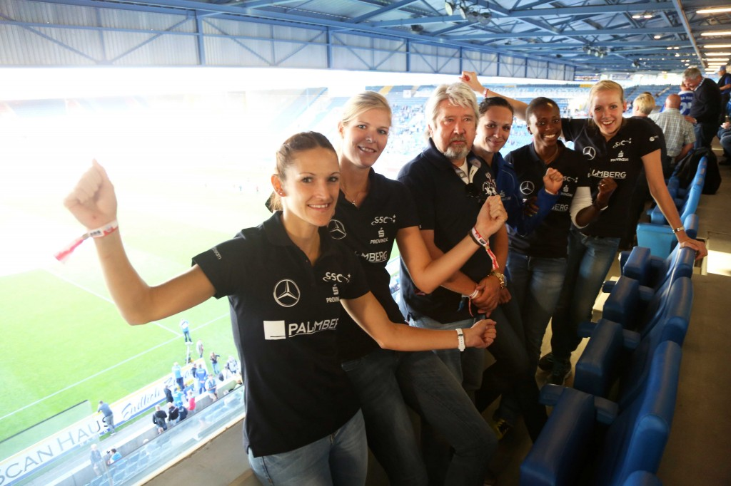 © INSIDE-PICTURE/Lutz Bongarts Rostock  Deutschland  26.08.2014  3.Liga FC Hansa Rostock - Sonnenhof Großaspach