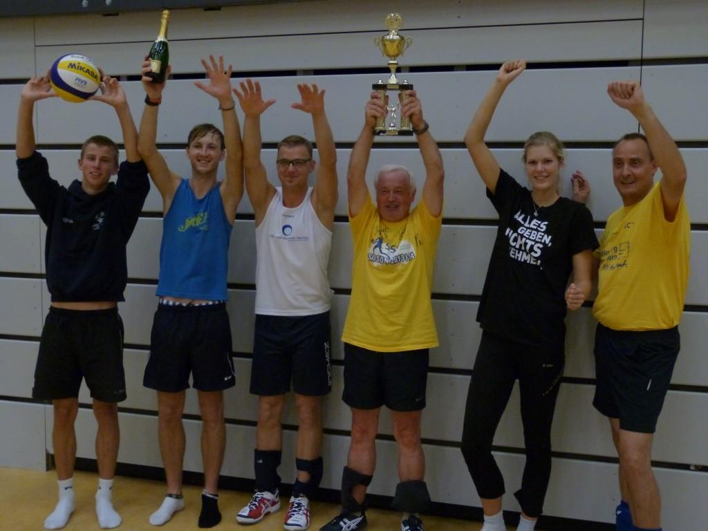 © Schweriner SC Die Gewinner 2014 Anjas Mixteam, Hospiztunier 2014