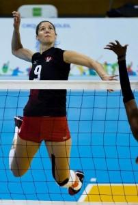 © FB Volleyballteam Kanada Die kanadische Neuverpflichtung für den Schweriner SC Tabitha Love, Facebook Volleyballteam Kanada